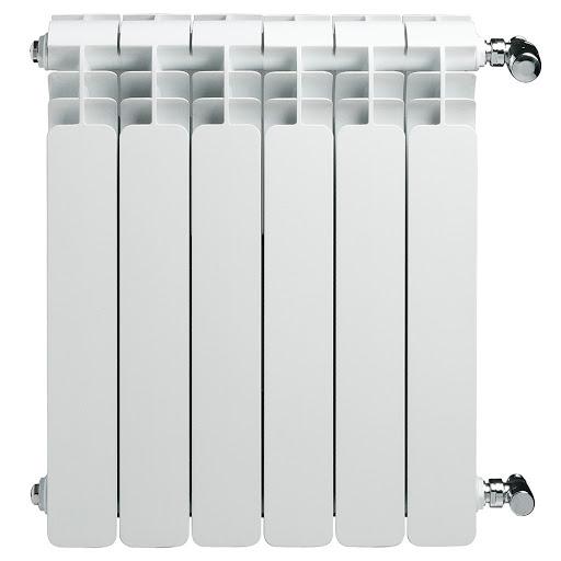 Radiatore radial lipari bianco in acciaio h. 60 cm
