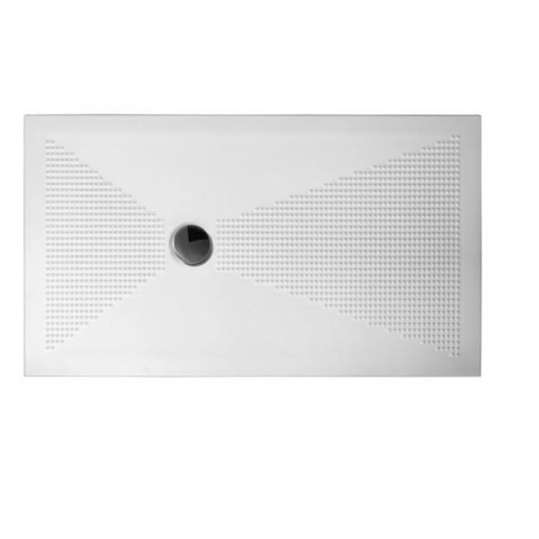 Piatto doccia althea up 80x140 sp.3 cm in ceramica bianco