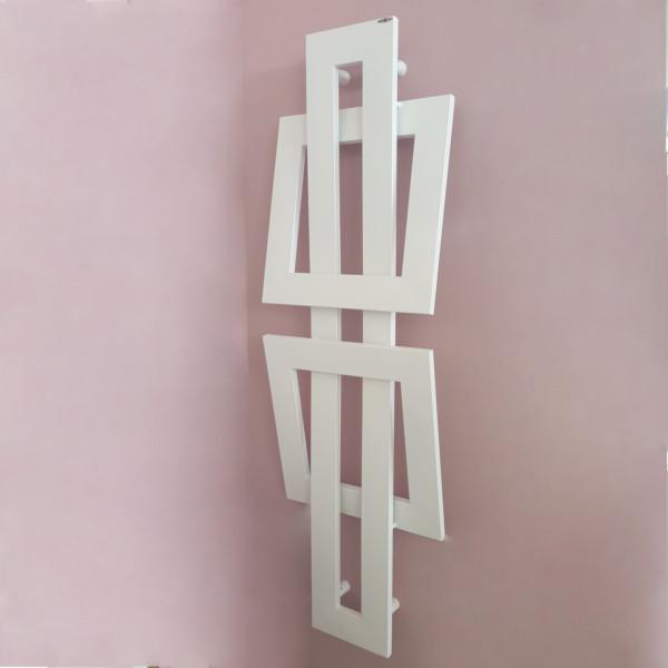 Scaldasalviette serie cros 1520x480 colore bianco