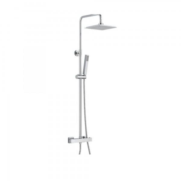 Colonna doccia quadra termostatica