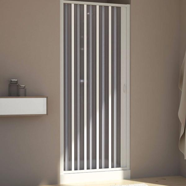 Porta doccia a soffietto da 170 riducibile a 150 cm