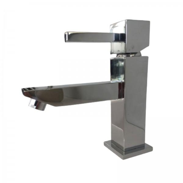 Miscelatore lavabo treemme quadro con scarico tradizionale