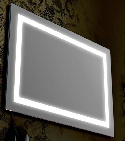 Specchio retroilluminato 60x80 cm cn fascia led