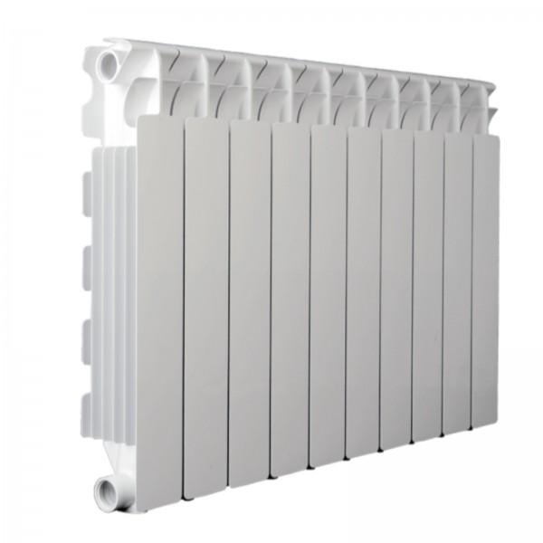 Radiatore fondital calidor s4 in alluminio bianco h. 68 cm