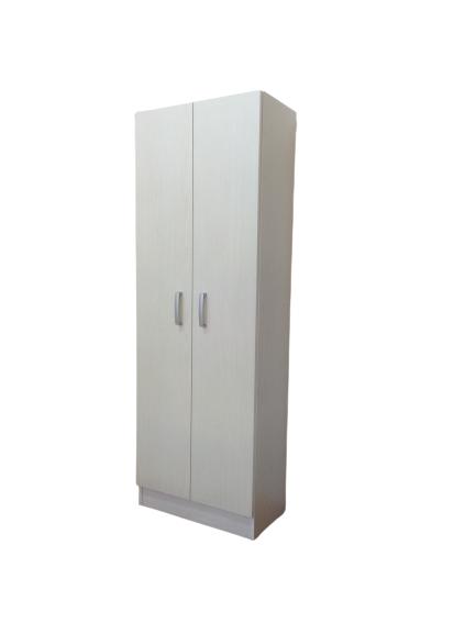 Colonna multiuso 60x197 cm bianco lucido con doppia anta