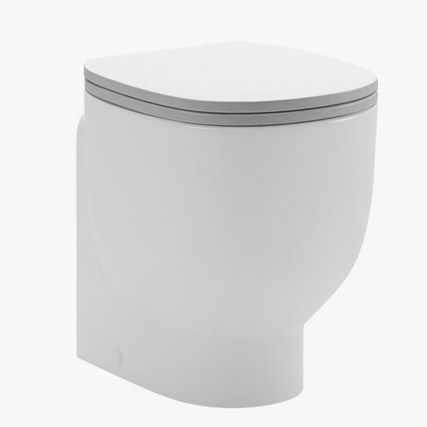 Copriwc pozzi ginori serie 500 in termoindurente bianco