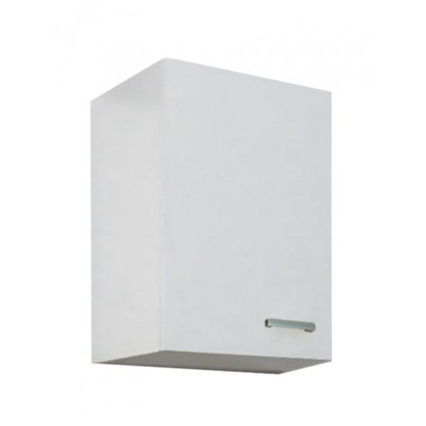 Pensile cucina 40x60 cm bianco lucido con apertura anta sx