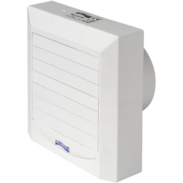 Aspiratore elettrico elicoidale a serranda automatica diam. 100 cm