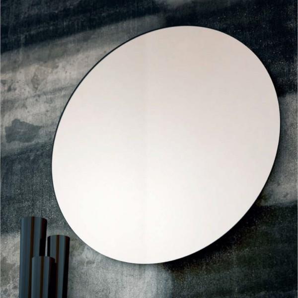 Specchio rotondo filo lucido diametro 80 cm