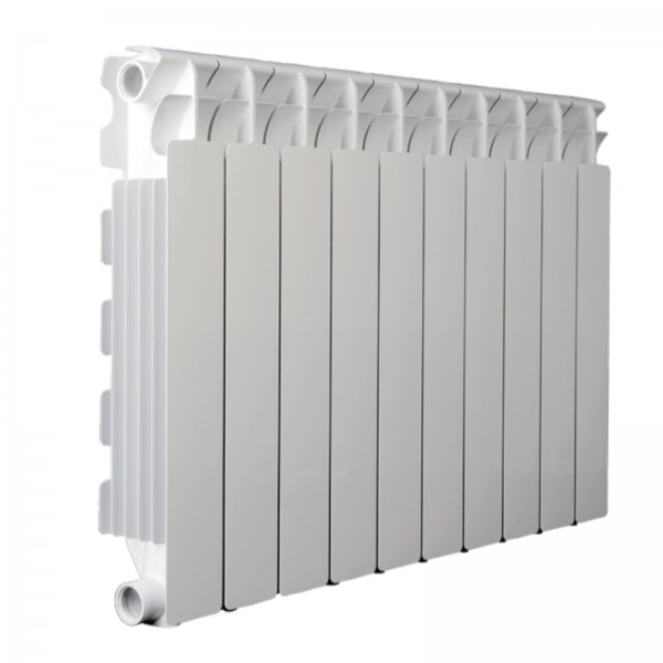 Radiatore fondital calidor s4 in alluminio bianco h. 88 cm