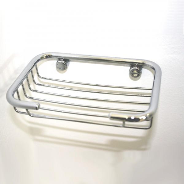 Griglia porta spugna per doccia o vasca cromo